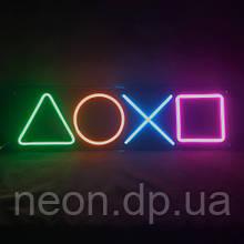 """Неонова вивіска """"PlayStation"""""""