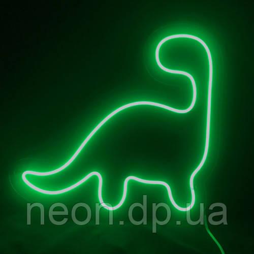 """Неоновый светильник  """"Динозавр"""""""