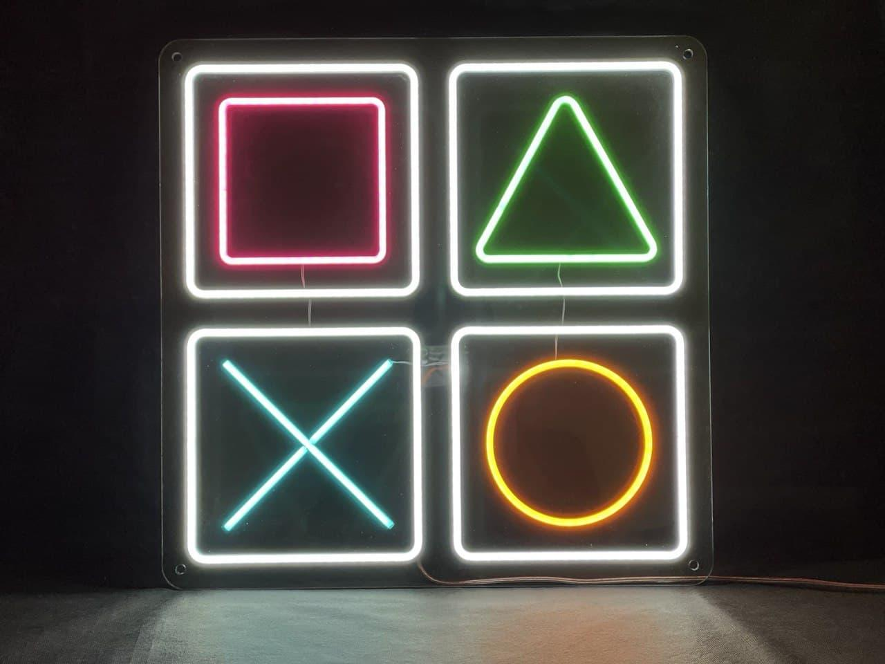 """Неоновая вывеска """"PlayStation"""""""