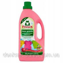 Гель Фрош для прання кольорової білизни з екстрактом Граната Frosch Owoc Granatu Gel do prania 1500 мл
