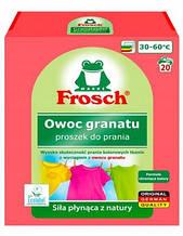 Фрош - порошок для прання кольорової білизни з екстрактом Граната Frosch Owoc Granatu 1.35 кг