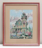 Вышитая картина Дом