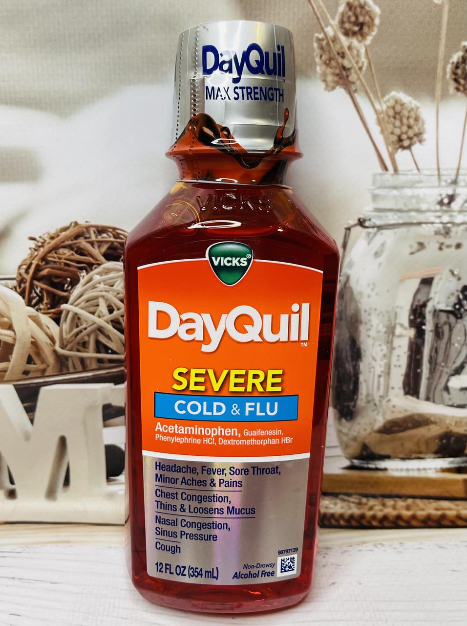 Средство от простуды, кашля VICKS DayQuil на день