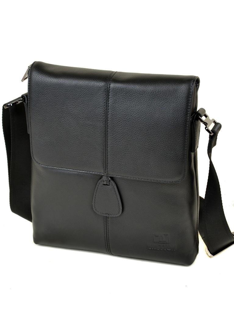 Сумка Мужская Планшет кожаный BRETTON BE 3503-3 черная