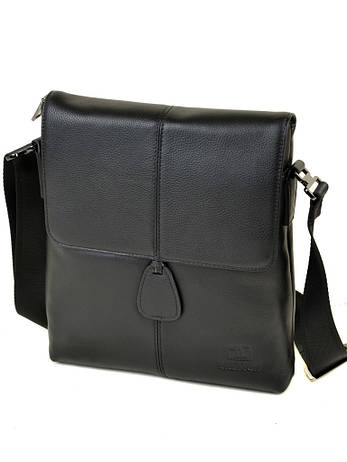 Сумка Мужская Планшет кожаный BRETTON BE 3503-3 черная, фото 2