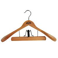Вешалка деревянная с зажимом для брюк