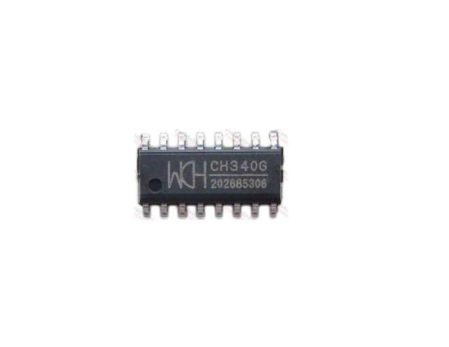 Чип CH340G CH340 SOP16, USB - UART TTL преобразователь