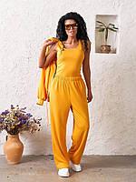 Спортивний костюм трійка (худі на блисковці, топік і штани) 028 В / 03, фото 1