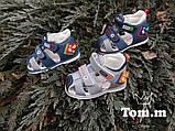Шкіряні босоніжки для хлопчика Tom.m 7963E, 18-23 розміри., фото 2