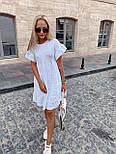 Сукня трапеція білого кольору на літо (Норма), фото 4