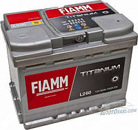 Автомобильный аккумулятор FIAMM TITANIUM PLUS 6СТ- 60Аз 540А L