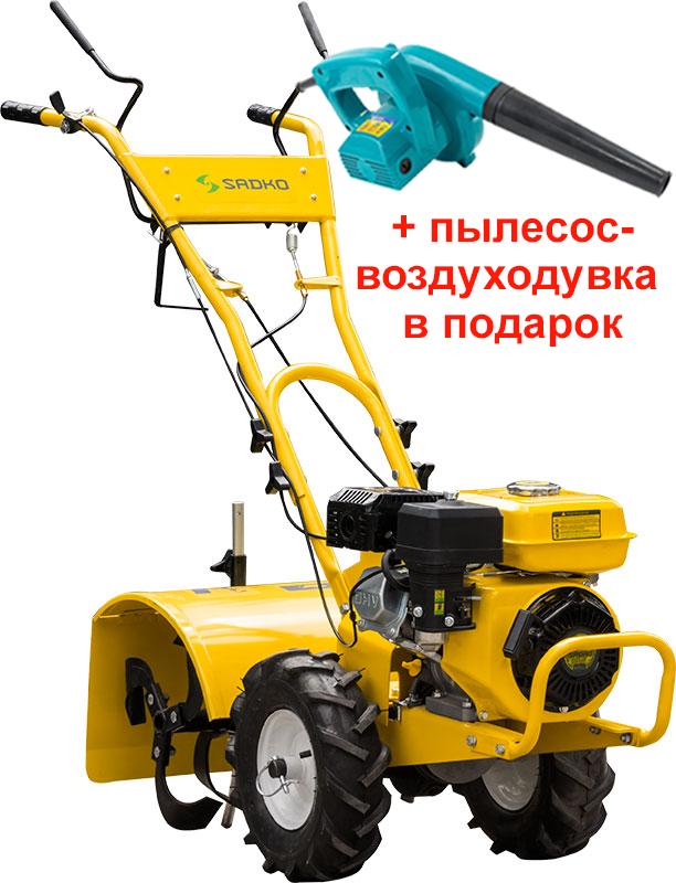 Мотокультиватор Sadko M-400, 6.5 л.с. бензин, БЕСПЛАТНАЯ ДОСТАВКА!
