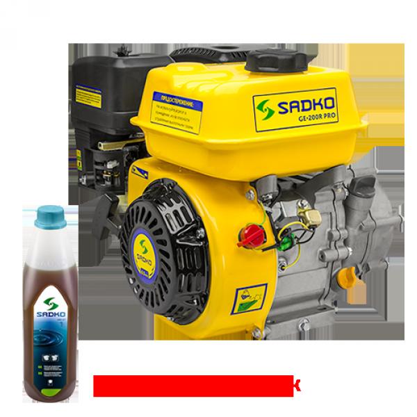 Двигатель бензиновый Sadko GE-200R PRO, 6.5 л.с. БЕСПЛАТНАЯ ДОСТАВКА!