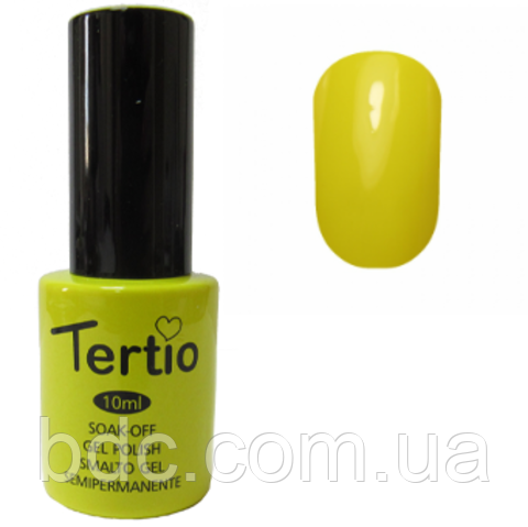 Гель-лак Tertio №149 (светло-желтый)