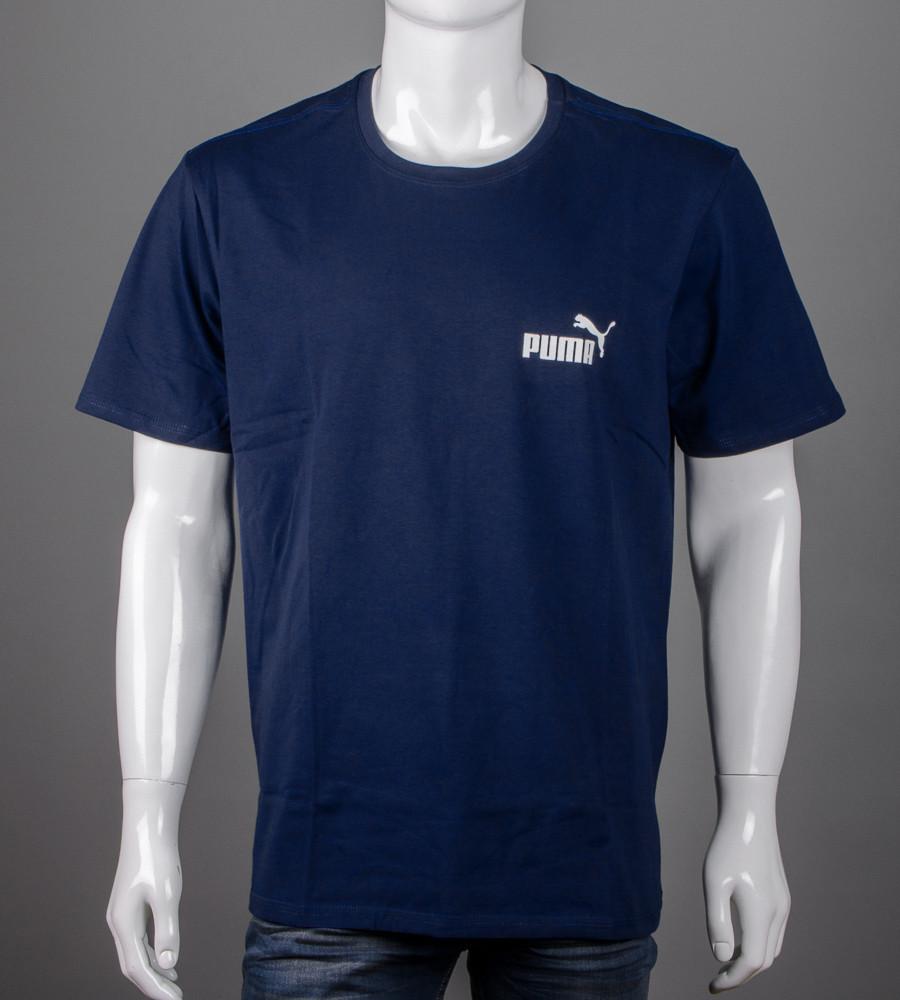 Футболка супер-батал Puma(2108сб), Т.Синий