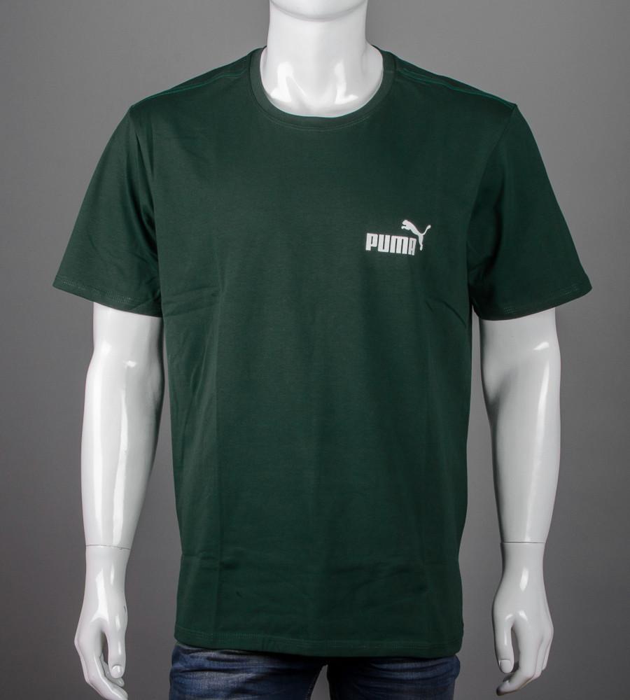 Футболка супер-батал Puma(2108сб), Т.Зеленый