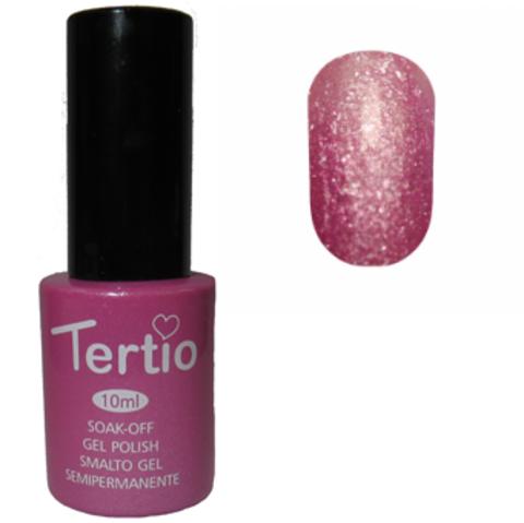 Гель-лак Tertio №180 (розовый с блестками)