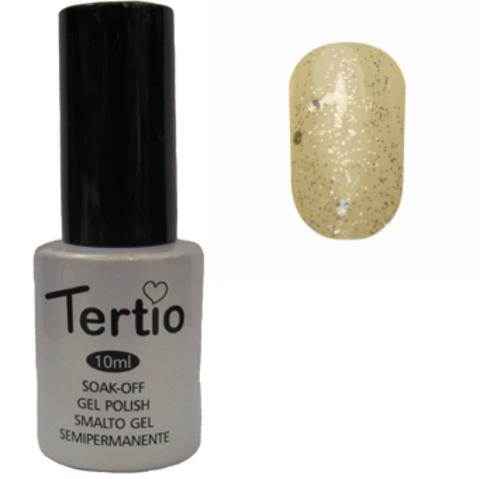 Гель-лак Tertio №189 (белая ночь с микроблеском и блестками)