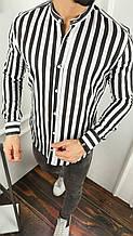 Мужская рубашка в полоску пр-во Турция О Д