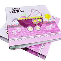 Фотоальбом для новорожденной девочки 300 фото с анкетой
