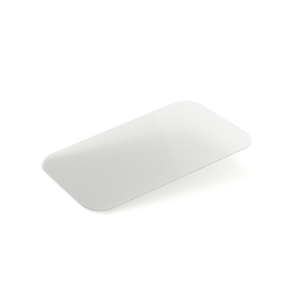 Крышка плоская, пластиковая для контейнера LA-CAR SP64L, (100 шт/уп.)