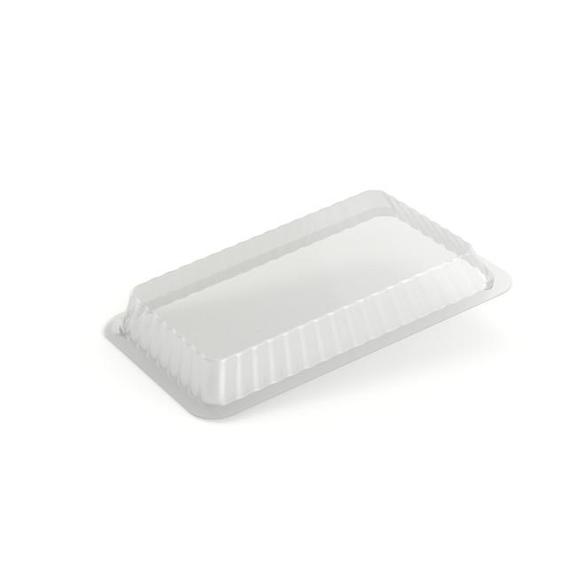 Опукла кришка, пластикова для контейнера LA-CAR SP64L, (100 шт/уп.)