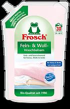 Гель Фрош для прання ніжних тканин Frosch Fein-Woll Waschbalsam 1800 мл