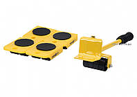Набор для перемещения мебели VOREL 150 кг 70 мм 5 шт