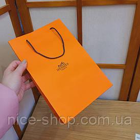 Подарунковий пакет Hermès: вертикаль, mini