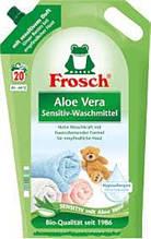 Гель Фрош для прання з екстрактом Алое Віра Frosch Aloesowy Sensitiv 1800 мл