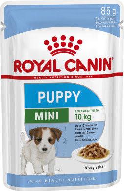 Влажный корм Royal Canin (Роял Канин) Mini Puppy для щенков малых пород 85 гр
