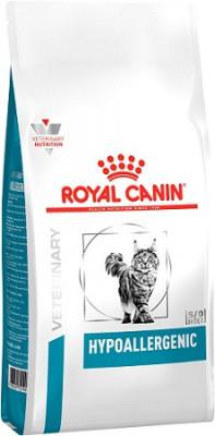 Гипоаллергенный корм Royal Canin Hypoallergenic Feline для кошек 500 г