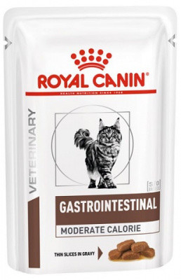 Лечебные консервы Royal Canin Gastro Moderate Calorie для кошек 85 гр