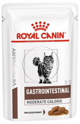 Лечебные консервы Royal Canin Gastro Moderate Calorie для кошек 85 гр, фото 2