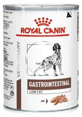 Лечебный влажный корм Royal Canin Gastro Intestinal Low Fat консерва 410 г