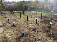 Установка винтовых свай - Киев, Киевская область, фото 1