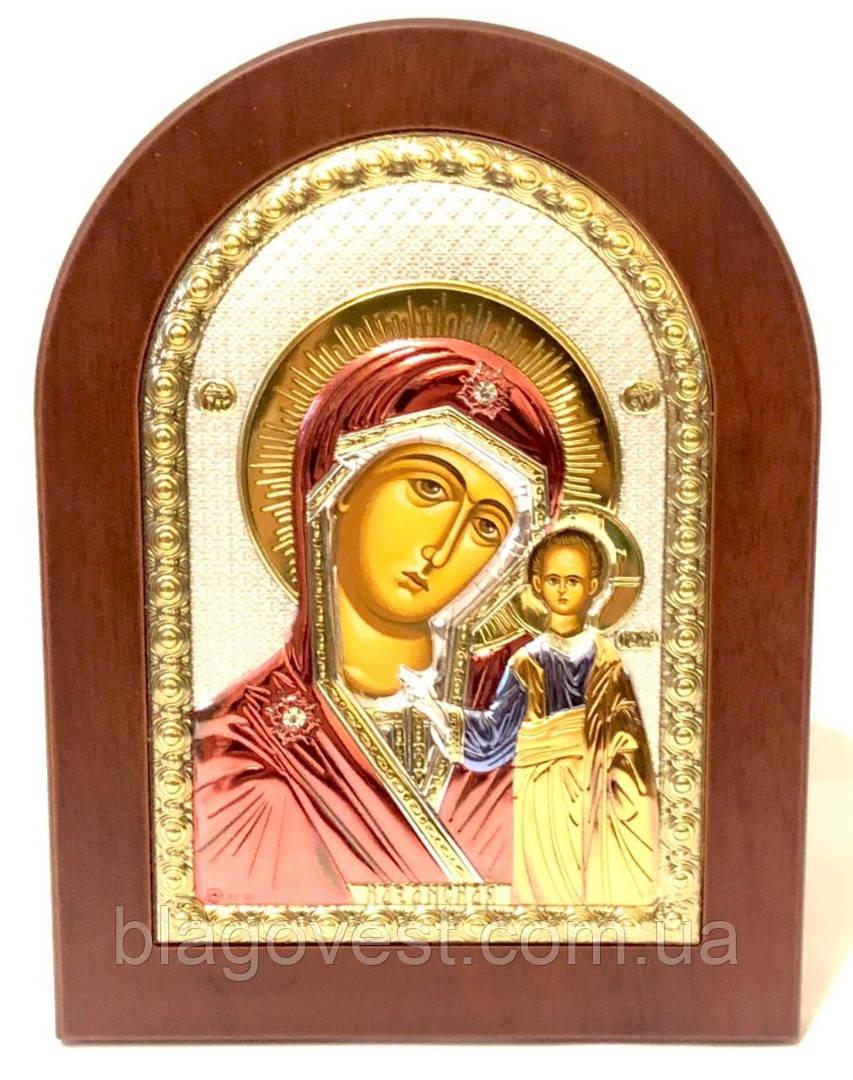 Казанська ікона 15х21 емаль