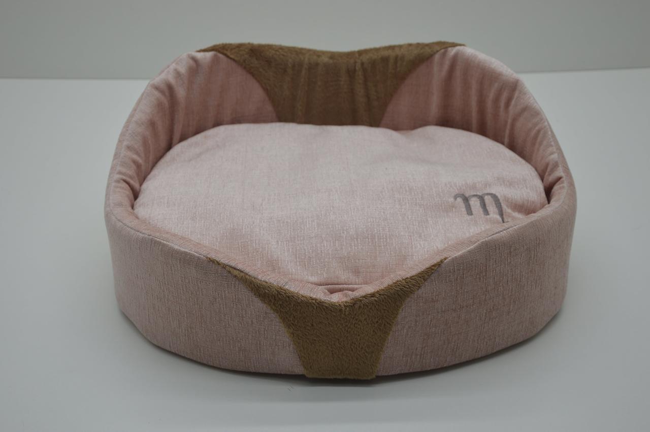 Лежак Мистик №4 460х620х195 розовый