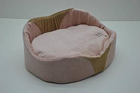Лежак Мистик №4 460х620х195 розовый, фото 2