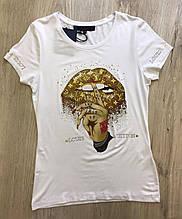 Футболка жіноча M(р) біла 597 Louis Vuitton Туреччина Літо-C
