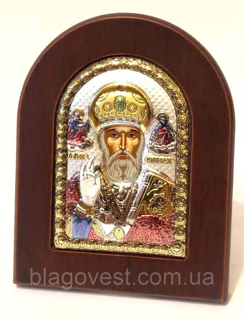 Икона св. Николай 7,5х9,5