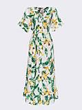 Расклешенное платье макси в цветочный принт ЛЕТО, фото 5