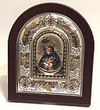 Икона Остробрамская 12х14 эмаль, фото 2