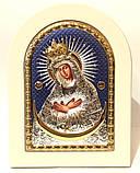 Остробрамська ікона 15х21 емаль, фото 2