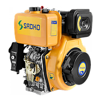 Двигатель дизельный Sadko DE-420ME, 10 л.с, шлицевой вал. БЕСПЛАТНАЯ ДОСТАВКА!