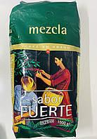 Кофе в зернах Hacendado Sabor Fuerte 1 кг Испания
