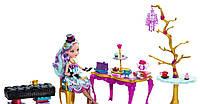 Кукла Ever After High Мэделин Хэттер Madeline Hatter Чайная Вечеринка с Набором Мебели