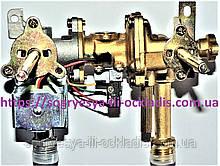 """Блок газовод. """"фланець"""" котушка + микровыкл. (б.ф.у, Китай) колонок газів. 10-12 л., арт. GWV5002, к. з. 0292"""