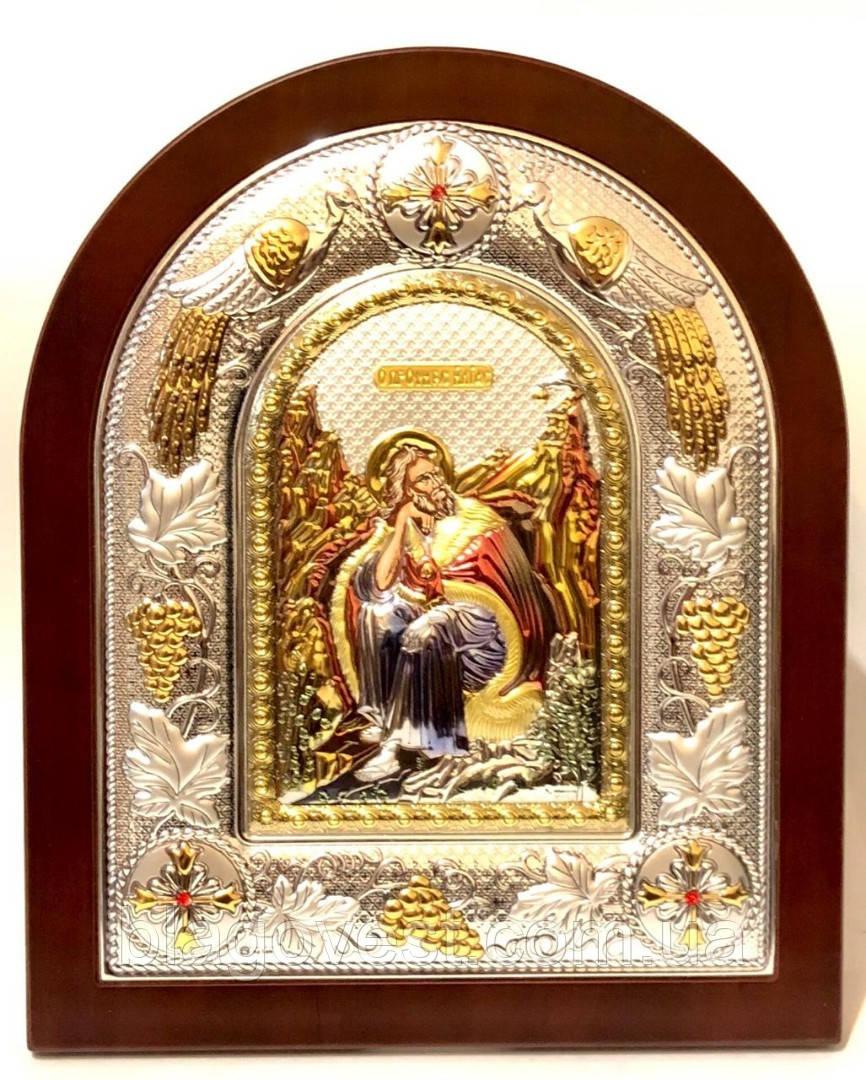 Икона Илья 18х22 эмаль