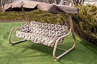 Качели садовые раскладные для дачи- Таурус